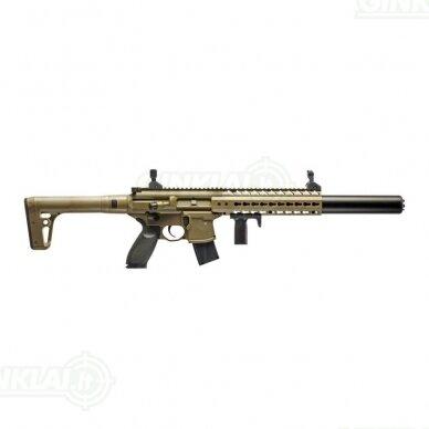 Pneumatinis šautuvas Sig MPX Black 4,5 mm Pellet Red Dot