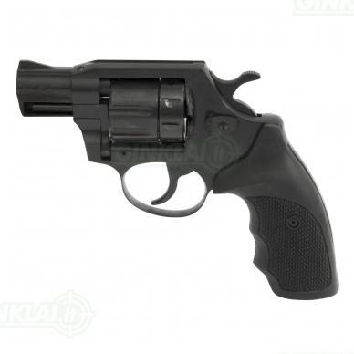 Revolveris Alfa 620 kal. 6mm Flobert, vamzdis 5 cm gumine rankena
