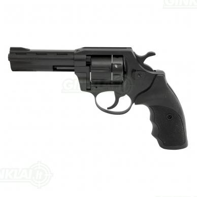 Revolveris Alfa 640 kal. 6mm Flobert, vamzdis 10 cm gumine rankena