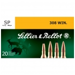 Sellier&Bellot .308 WIN. SP 11,7 g