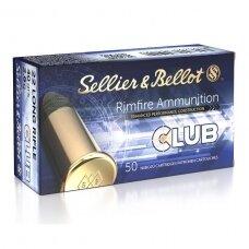 Sellier&Bellot 22LR Club 2,56 g, 50 vnt.