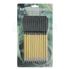 Strėlytės arbaletui aliuminės MK-AL6.5 Aluminum arrows 12 vnt. 6.5 inch