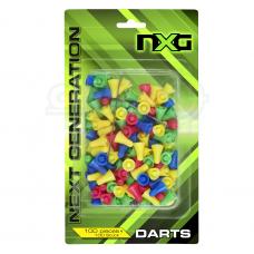 Strėlytės šaudymui NXG Blow Gun 100 vnt.