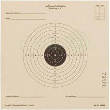 Taikiniai pneumatiniam šautuvui ISSF 14x14 cm, 1 vnt.