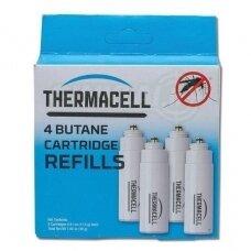 Thermacell butano dujų balionėlis C-4, 4 vnt.