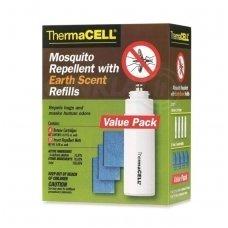 Thermacell užpildymo paketas E-4, 48 val., medžiotojams, žemės kvapo