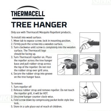 Thermacell laikiklis tvirtinimui prie medžio Tree Hanger 5