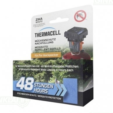 Thermacell M-48 repelento juostelės 48h