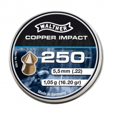 Kulkelės Walther Copper Impact  5,5 mm, 250 vnt.
